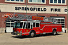 SPRINGFIELD, NJ TRUCK 1 - 1985 EMERGENCY ONE HURRICANE 110'