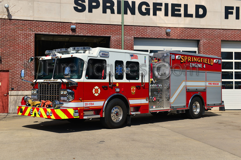 SPRINGFIELD, NJ ENGINE 4 - 2012 SPARTAN/CRIMSON 1500/700/30/40