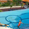 The Pelican Eyes Family Pool, one of three pools available to our guests