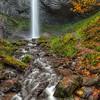 Latourell Falls in its Fall Glory
