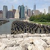 View from Brooklyn Bridge Park into Southern Manhattan