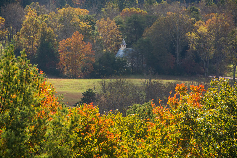Methodist Church In The Valley of Cades Cove