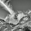 Cloud Strike on Half Dome