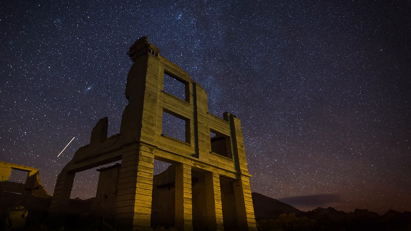 Rhyolite Ghost Town at Death Valley National Park