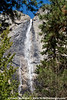 California drought has reduced the flow over Yosemite Falls, Spring 2015