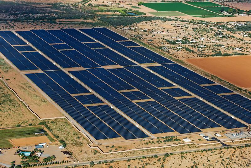 Solar Farm Aerial