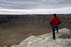 Meteor Crater, near Winslow, Arizona