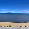 We met Penny at Taylor Creek and then moved on to this gorgeous spot on the lake for a picnic lunch (sorry for the cellphone panorama).