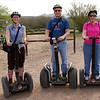 Ft. McDowell Adventures Segway Tour with the folks!