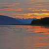Sunrise, Tyndall Bay, Glacier Bay National Park
