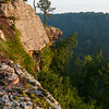 Bluff on Petit Jean Mountain