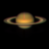 Saturn BVR colour composite assembled from images obtained during the commissioning of the CURE acquisition and guide camera on the 3.9 m Anglo-Australian Telescope, 2012-07-25.