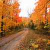 """  Autumn in the Wisconsin Countryside   "" 2  Boulder Junction Wisconsin"