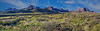 Chisos Mountain Panorama - Pummel to Pulliam Mountains