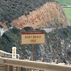 Views along Big Sur Marathon course - Bixby Bridge