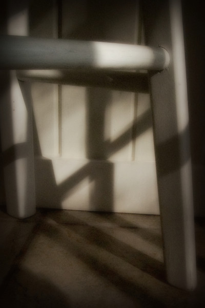 Shadow Chair - Lexington Kentucky Simplicity is Important - Images Easy to Read! --              Lexington Kentucky photographer