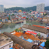 Fishing harbor in Xiamen, Fujian Province China by kstellick