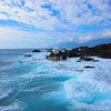 Foaming surf on east coast of Taiwan by kstellick
