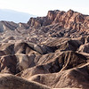 Convolutions and textures of eroded rock, Zabriskie Point