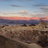 Manly Beacon at sunrise, from Zabriskie Point