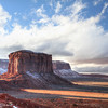From Artist's Point, Monument Valley, 12/04/2013.