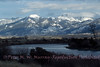 Yellowstone River, Paradise Valley and Absaroka Mts.