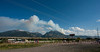 Emigrant Peak Fire from Emigrant....Old Saloon. 72613 1800