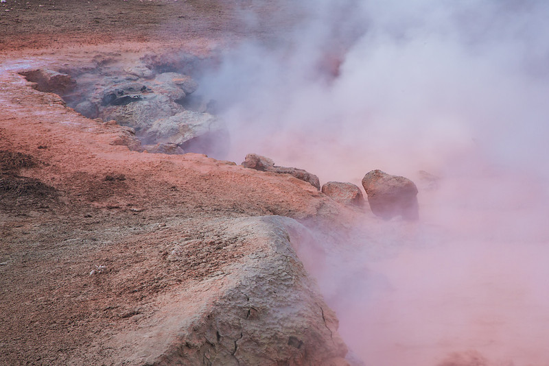 Red Spouter, Fountain Paint Pots, Yellowstone National Park