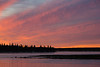 Colourful skies over south end of Butler Island before sunrise.