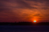 Sunrise at Moosonee.
