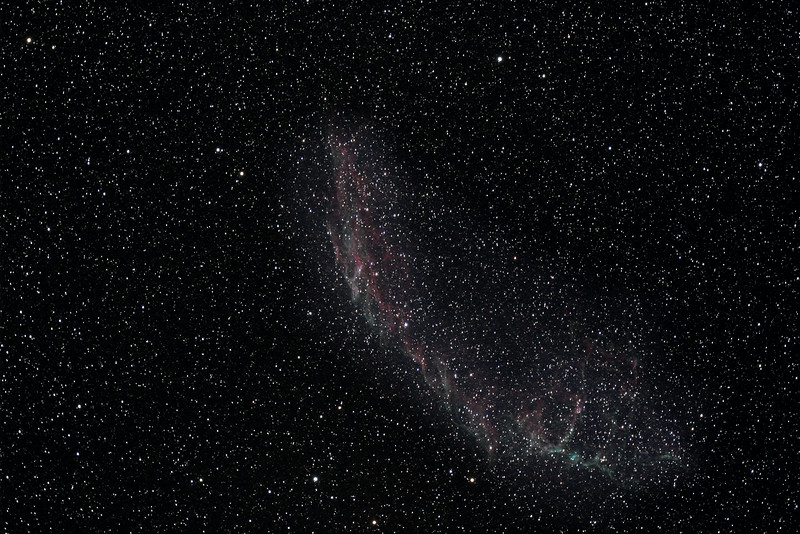Eastern Veil Nebula, Northern Section (NGC 6992)