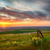 Sunset, Emigrant Hill, Oregon