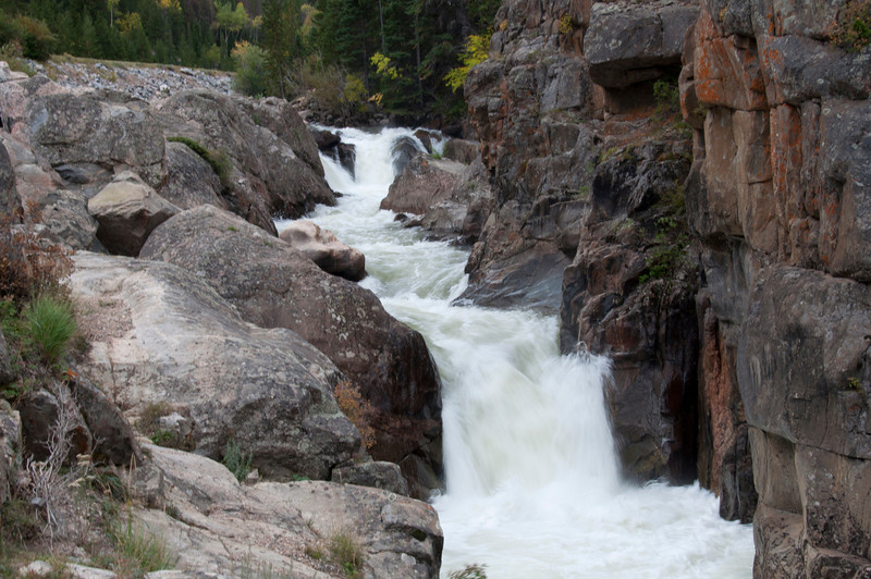 Poudre Falls outside of Fort Collins, Colorado.