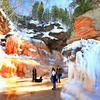 Amber-Land 2   Apostle Islands National Lakeshore Ice Caves March 2014