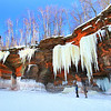 Icicles Galore 3 Apostle Islands National Lakeshore Ice Caves March 2014