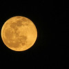 Full moon at 100% of full (golden phase, but a bit brighter) April 15, 2014