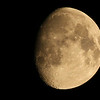 Waxing Gibbous Moon at 85% of full<br /> July 8, 2014 (A few minutes before midnight)