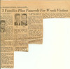 The Charlotte Observer - Tuesday, July 28, 1959<br /> <br /> List of sailors who were killed in July 26, 1959 Auto Accident on U.S. Highway 64 East in Pittsboro NC.<br /> <br />  Larry Adam Gibson - Fireman First Class (FN) U.S. Navy (USS VULCAN AR-5)<br />  John Randolph Pigg - Fireman Apprentice (FA) U.S. Navy (USS VULCAN AR-5)<br /> Edgar Donald Waters - Machinery Repairman (MR3) U.S. Navy (USS VULCAN AR-5)<br />  Roy Truman Duncan Jr. - Gunners Mate (GM3) U.S. Navy (USS LIMPKIN MSC-195)<br />  Thomas Wilson Hollifield - Seaman First Class (SN) U.S. Navy (USS LIMPKIN MSC-195)<br />   Garland Hendricks - Rate. Rank and Duty Station Unknown U.S. Navy<br /> <br /> Anyone recognizing any of these men or knows a little more about them, please click on the 'e-mail me' from the link above on this gallery. Or click on the 'add comment' button that you find at the beginning of the Comments section below.