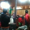 Drunk swiss group in Namche