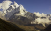 Ama Dablam and Pheriche village