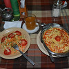 0350 - Spaghetti and Salad
