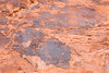 Petroglyphs on sandstone. Taken in Valley of Fire State Park, Nevada, USA.