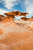 Delicate formations in the sandstone. Taken in the Gold Butte BLM area of Nevada, USA.