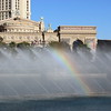 Rainbow in the Fountain