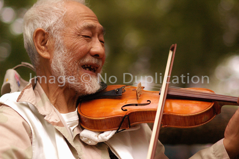 Fiddler at the Zoo