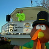 Announcing for the Turkey Trot
