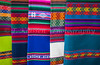Closeup of textiles in the markets and shops in Santa Fe, New Mexico, USA.