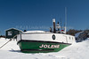 Jolene Fishing Tug, Frozen Lake Superior, Bayfield County, Wisconsin