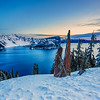Crater Lake Sunrise I