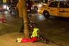 A clown is missing on MacDougal Street<br /> St. Patrick's Day 2012